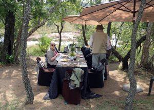 Picnic Lunch on the upper escarpment